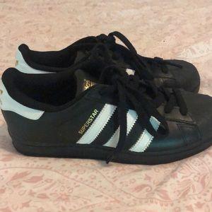 adidas Shoes - Black Adidas Superstars